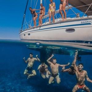 settimana in barca a vela Pontine luglio
