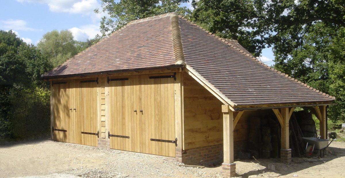 Oak Framed Garages Kent Surrey And SussexChartwell Oak