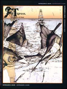 Custom Business Literature And Logo Design Fishing Art