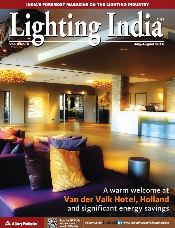 Lighting India Magazine - July - August 2014