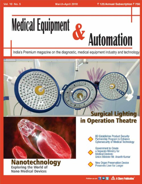 Medical Equipment & Automation – Chary Publications – Number one