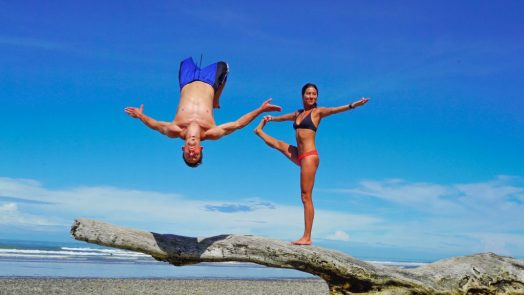 parkour and yoga in costa rica