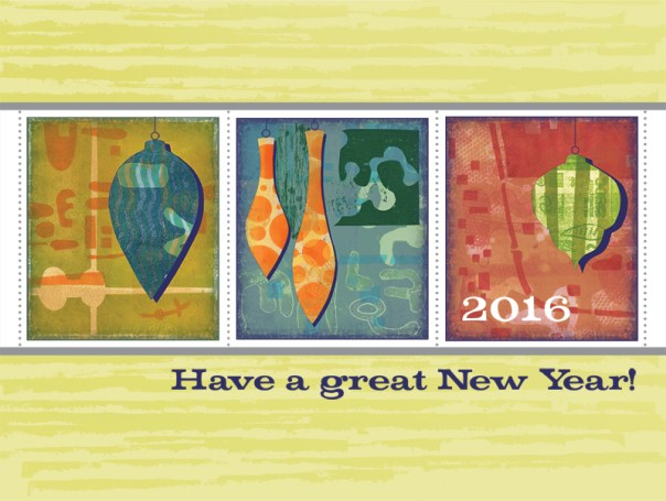 New Year Card for 2016