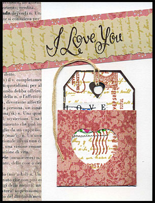 Valentine Card by Carolyn Hasenfratz