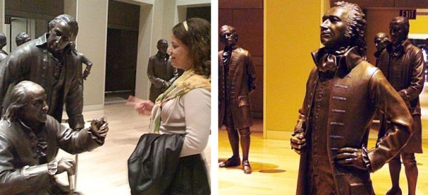 Me at the National Constitution Center in 2009