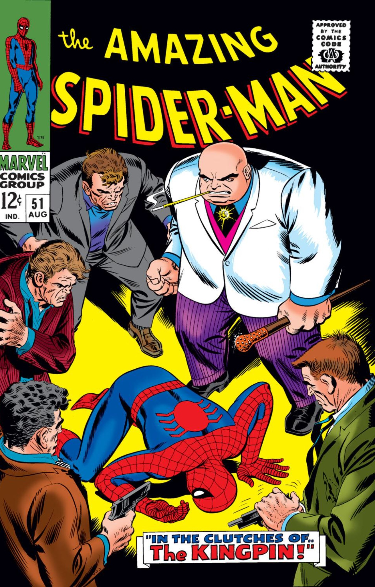 Image result for kingpin marvel comics first appearance