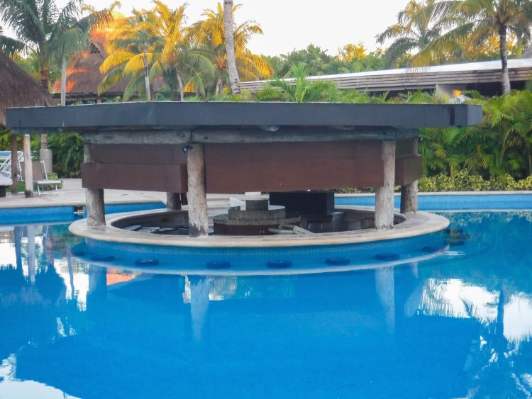 Our favorite pool bar before it opened