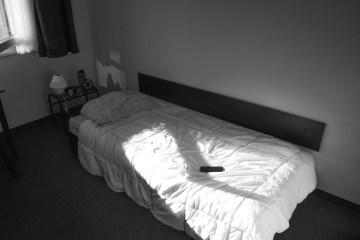 Berlin black and white bedroom