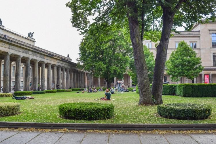 Museum Island Courtyard Favorite Spots Berlin