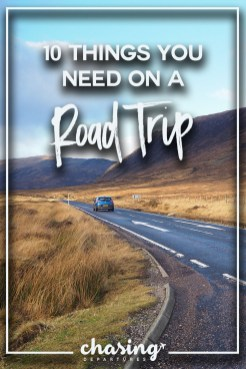 things you need road trip 1