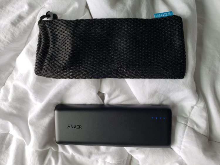 Anker power bank and cover
