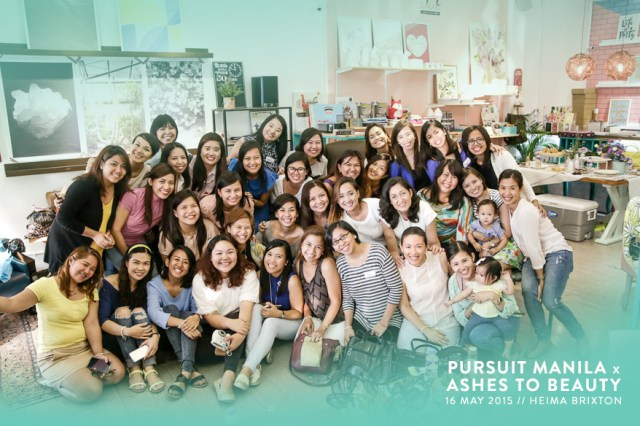 Ashes to Beauty x Pursuit Manila