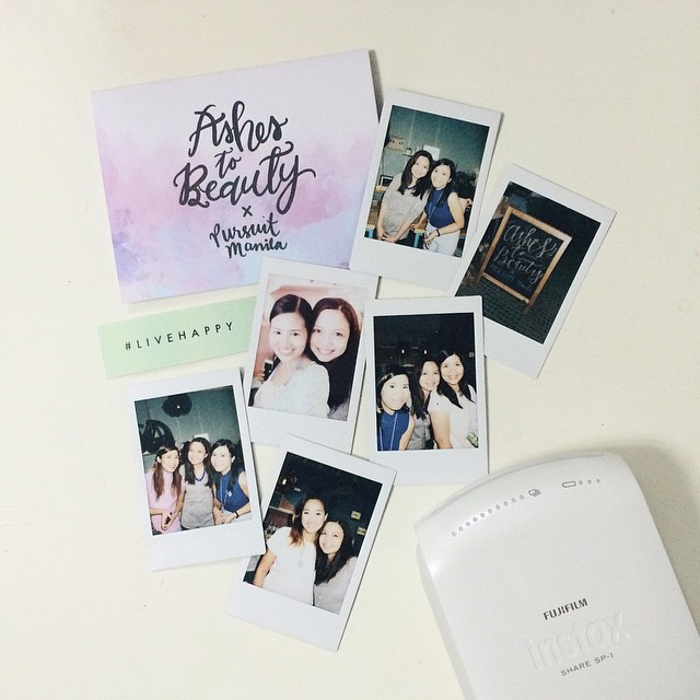 Ashes to Beauty x Team Instax
