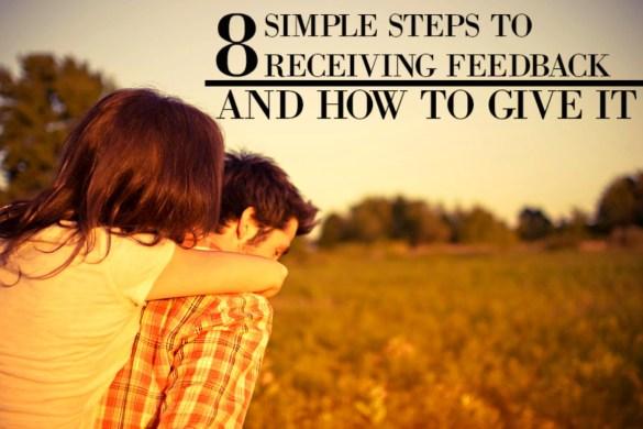 8 simple steps on receving feedback 3