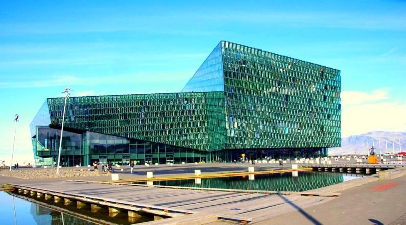 harpa concert hall reykjavik iceland