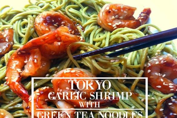 shrimp and noodles recipe blog picture