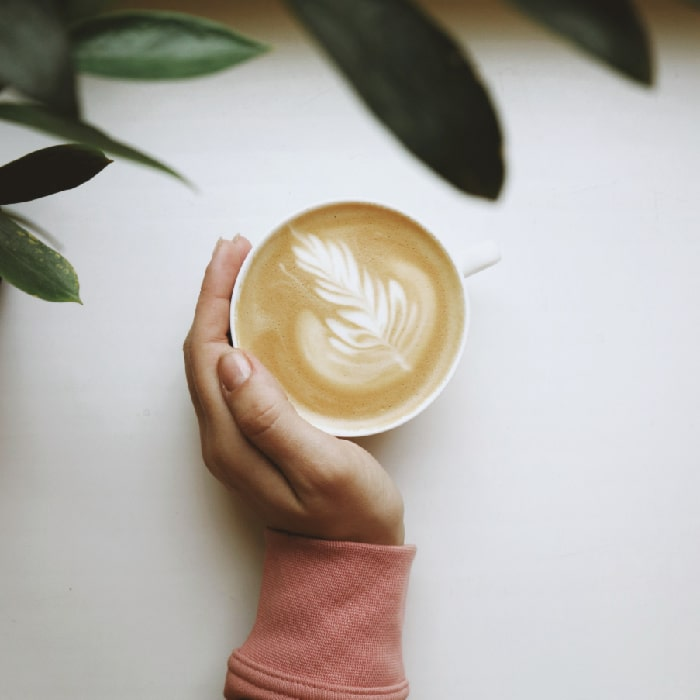 You can't drink lattes on the Keto diet