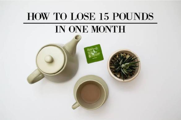 How To Lose 15 Pounds In One Month
