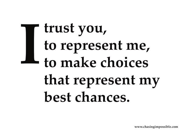 Voter's trust