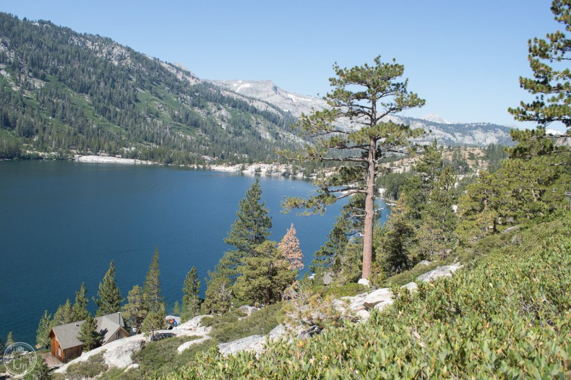 hike in south lake tahoe, echo lake
