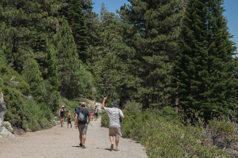 hike in south lake tahoe, lower eagle falls, hiking