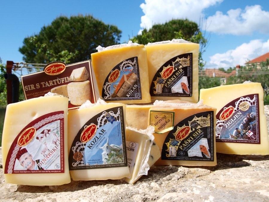Pag Island Paski Sir cheese range