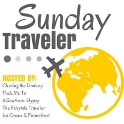 SUNDAY TRAVELER BADGE YELLOW
