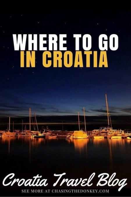 Where to go in Croatia | Croatia Travel Blog