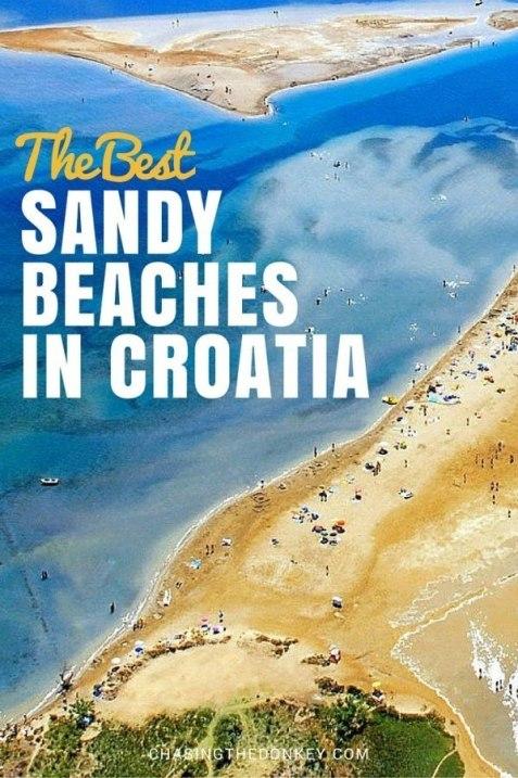 Sandy Beaches in Croatia_Nin_Queens Beach Travel Blog