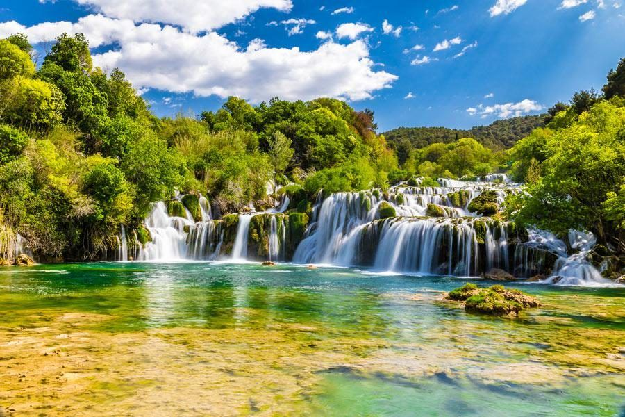 Things to do in the Balkans_Krka-Waterfall | Balkans Travel Blog