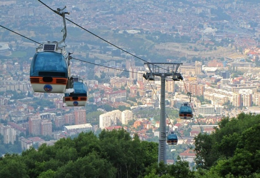 Things to do in Skopje Macedonia_Vodno Cable Car