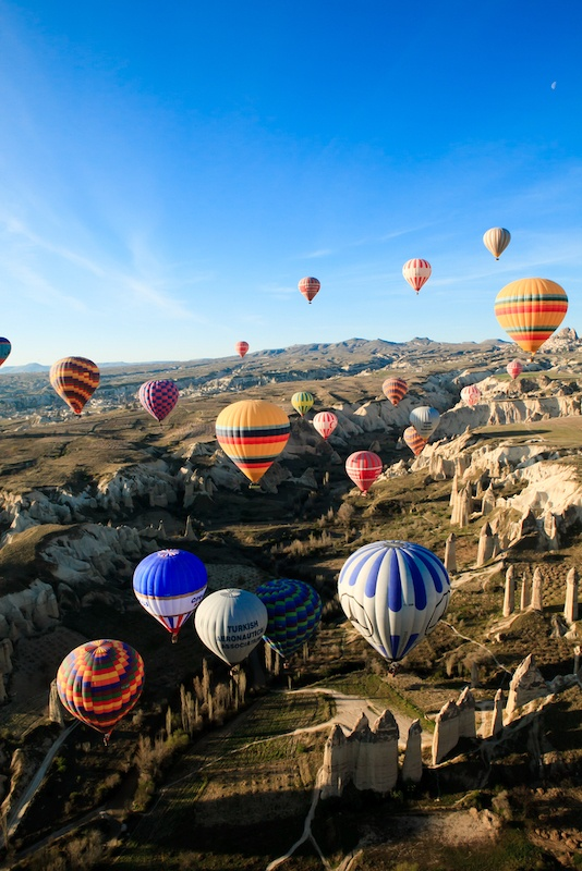 How To Get From Istanbul To Cappadocia - Balloons