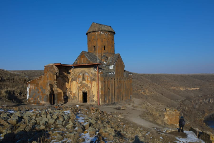 Cities in Turkey - Kars - Carhedral Fethiye Mosque in Ani.