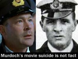Image result for titanic the movie murdoch suicide