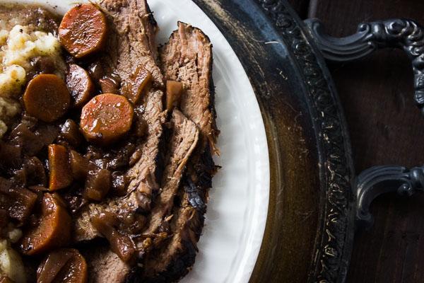 Brasato al Barolo (Beef Braised in Barolo)
