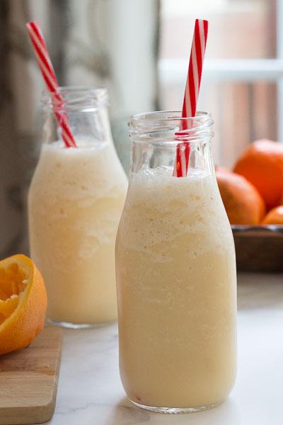 citrus vanilla almond smoothie