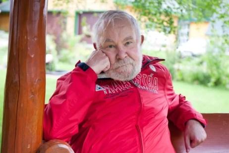 Селигер. Владелец турбазы «Хижина» Валерий Легков Фото: Антон Агарков / Strana.ru