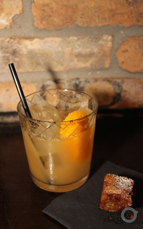 Hurry Up with my Damn Croissants – croissant bulleit bourbon, demerara, nick nistico's sexual chocolate bitters
