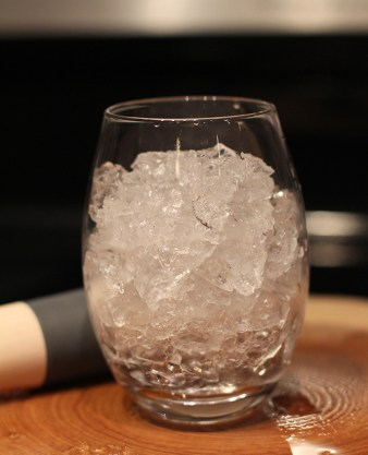 Perfect ice for Miami drinks like the Mint Julep.