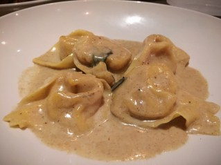 Butternut Squash Tortellacci – parmesan brown butter, crispy sage