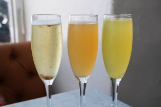House Aperitif, Fancy Mimosa, Plain Mimosa