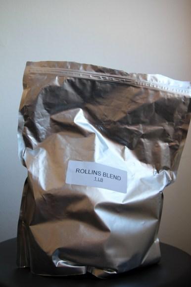 The Sonny Rollins custom blend.