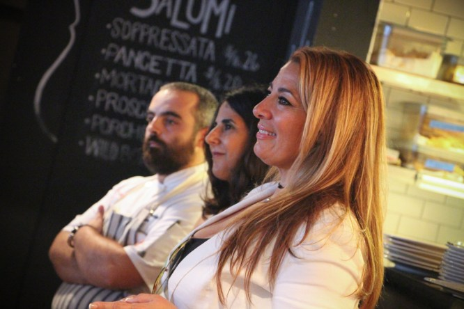 Chef Nino, Sara Liss & Maude Eaton