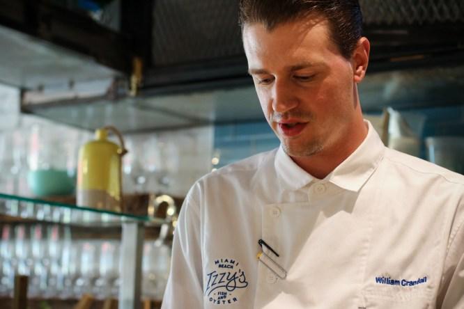 Chef de Cuisine William Crandall