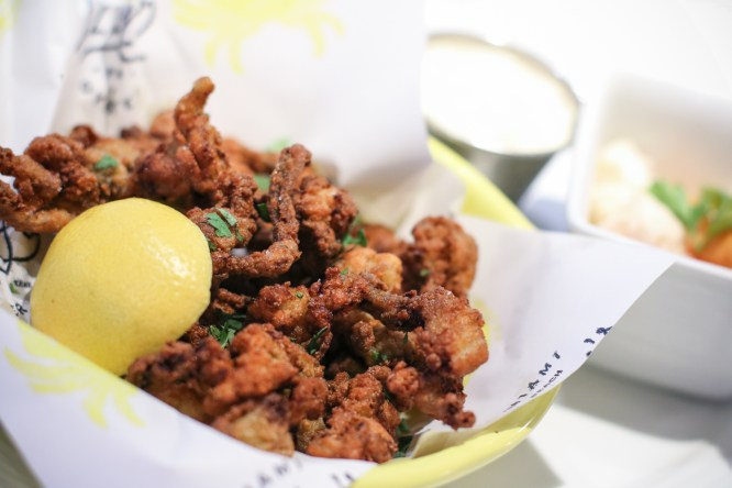 Fried Clam Bellies