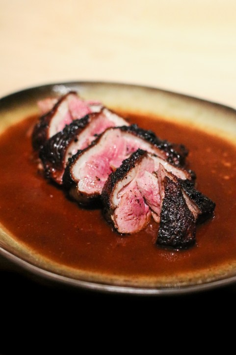 """Duck Breast """"burnt ends"""""""