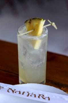 Tom Kha-Piña w/ ilegal mezcal, charred pineapple shrub, lemongrass, cilantro