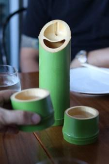 Sake by the carafe