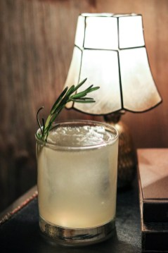 Grace Under The Pressure with Wheelers Gin, fino sherry, grapefruit, rosemary and salt