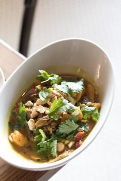 Curried Goat w/ Sweet Potato Gnocchi & Cashews